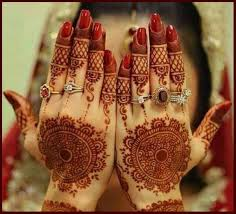 Engagement Mehndi Designs You Should Try (7)