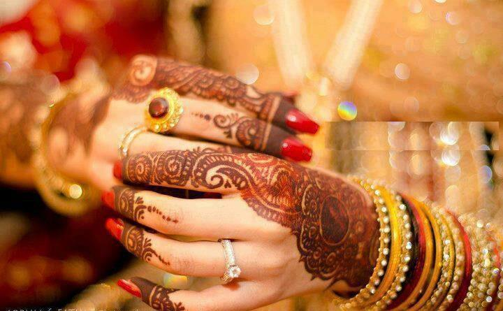 Engagement Mehndi Designs You Should Try (5)