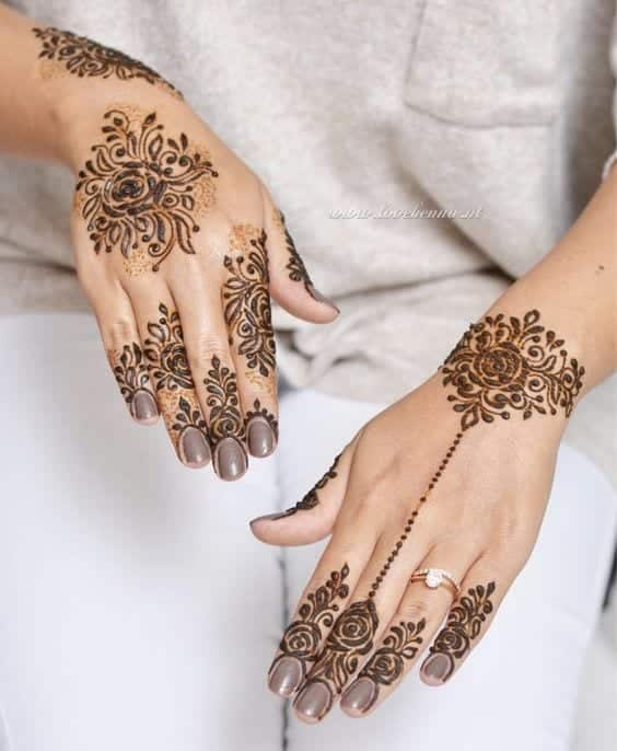 30 Best Bangle Mehndi Designs To Inspire You (29)