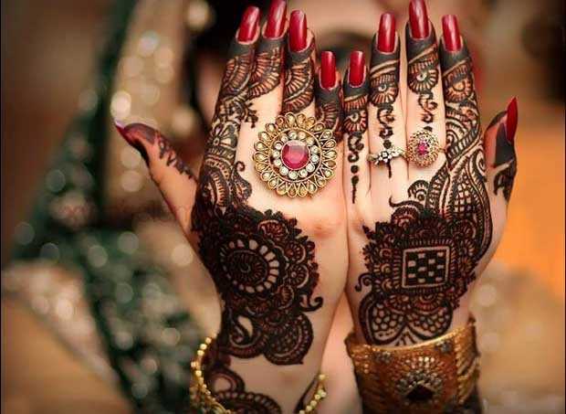 Engagement Mehndi Designs You Should Try (3)