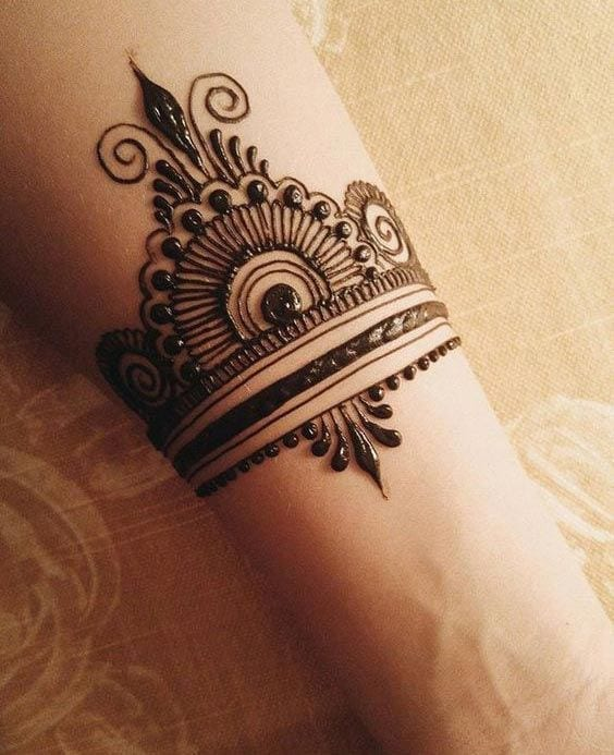 30 Best Bangle Mehndi Designs To Inspire You (25)