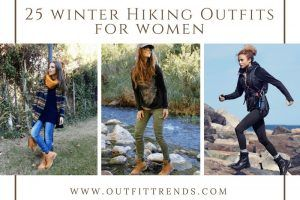 Hiking Outfits for Women to Wear in Winter (33)
