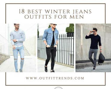 Winter jeans outfits for men (21)