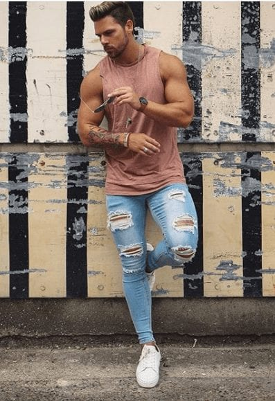 Summer Jeans Outfits for men 2018