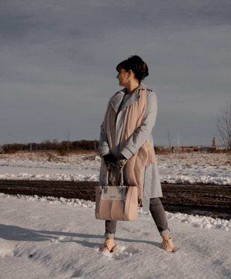 Winter Travelling Outfits for Women Over 50