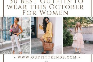 October Outfit Ideas for Women