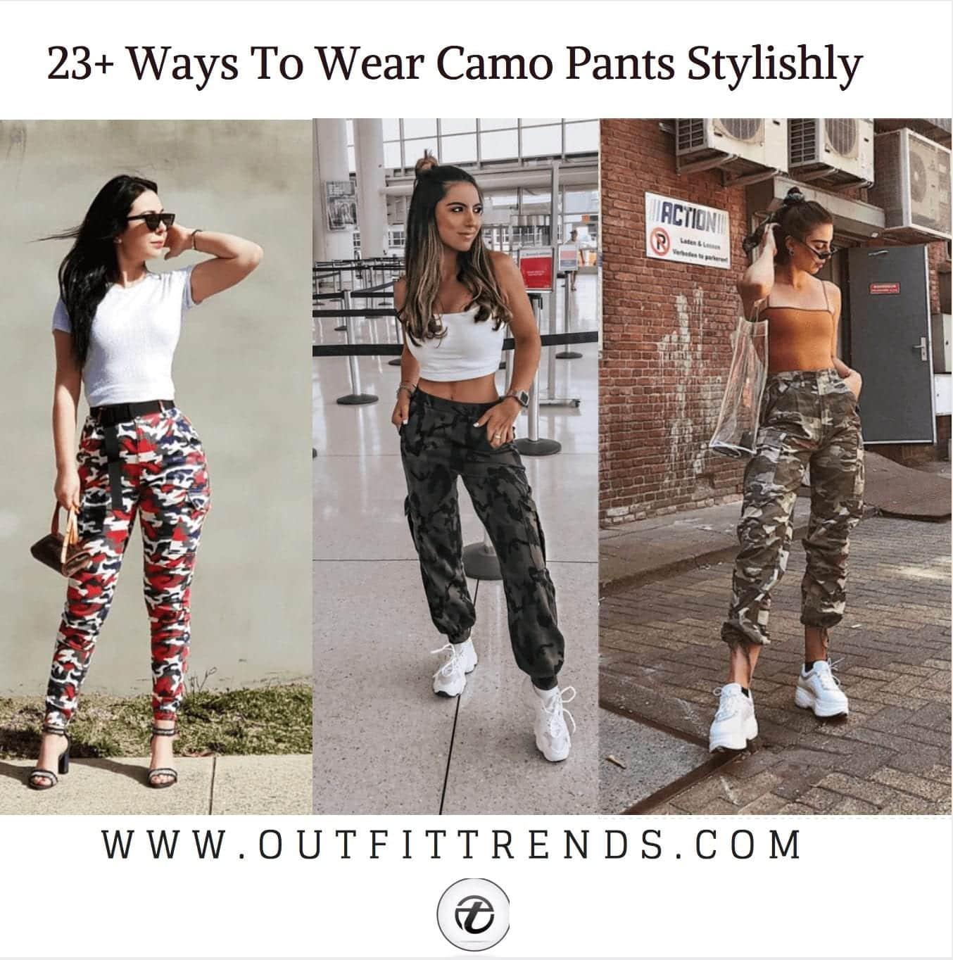 9c531cf6b61 Outfits with Camo Pants-23 Ways To Wear Camo Pants Stylishly