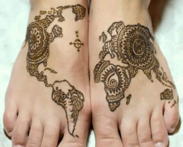 Eccentric Henna Trends - 30 Outlandish Mehndi Designs (27)