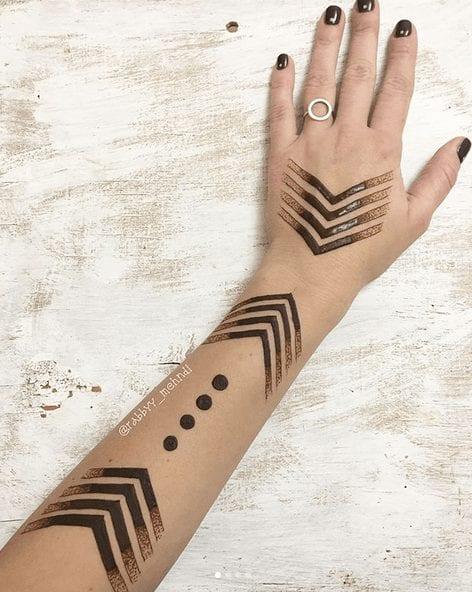 Eccentric Henna Trends - 30 Outlandish Mehndi Designs (25)