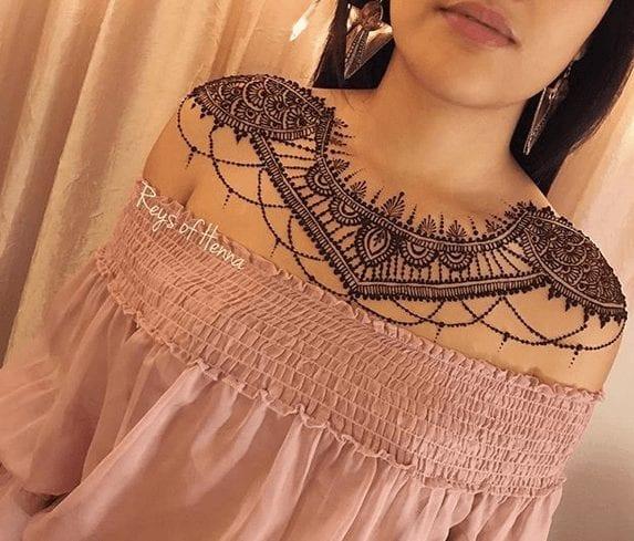 Eccentric Henna Trends - 30 Outlandish Mehndi Designs (7)