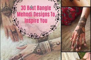 30 Best Bangle Mehndi Designs To Inspire You (2)