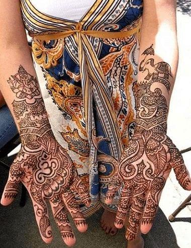 Eccentric Henna Trends - 30 Outlandish Mehndi Designs (2)