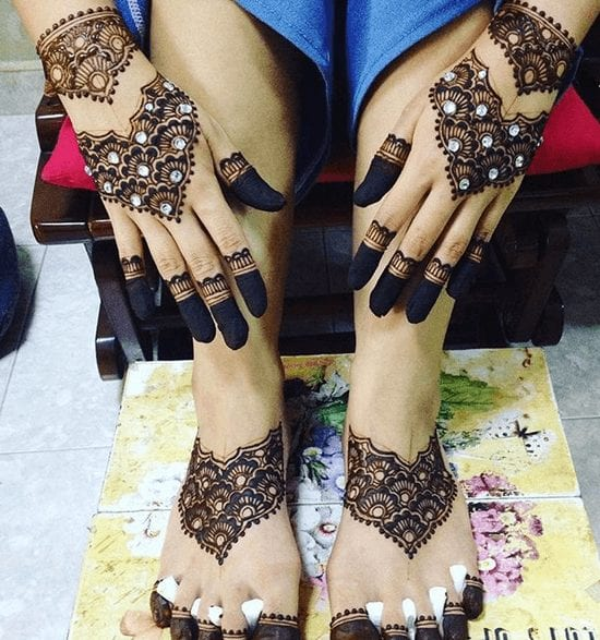 Jaipur Mehndi Designs (32)