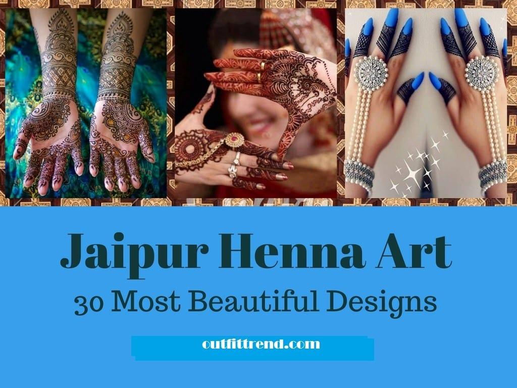 Jaipur Mehndi Designs (31)