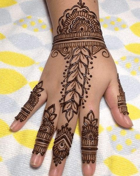 Jaipur Mehndi Designs (18)