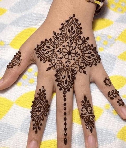 Jaipur Mehndi Designs (17)
