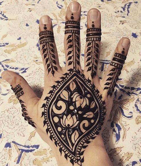 Jaipur Mehndi Designs (16)