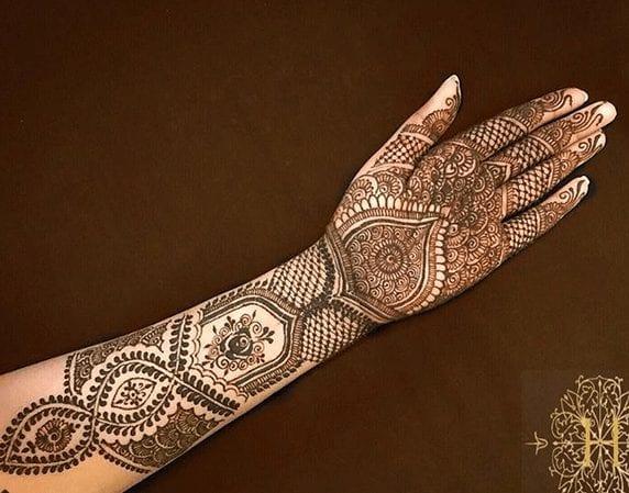 Jaipur Mehndi Designs (15)