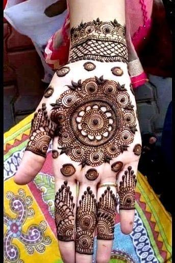 Jaipur Mehndi Designs (12)
