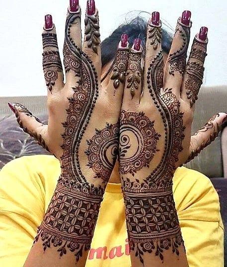 Jaipur Mehndi Designs (11)