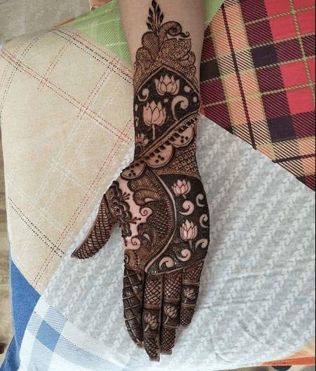 Jaipur Mehndi Designs (10)
