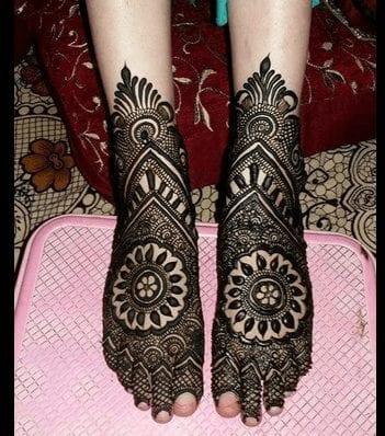 Jaipur Mehndi Designs (9)