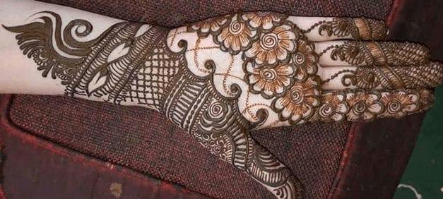 Jaipur Mehndi Designs (8)