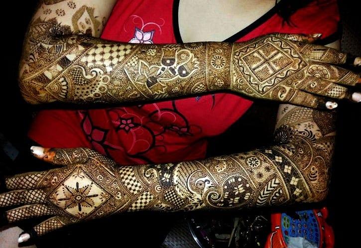 Jaipur Mehndi Designs (4)