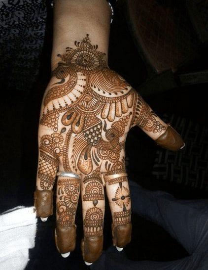 Jaipur Mehndi Designs (3)
