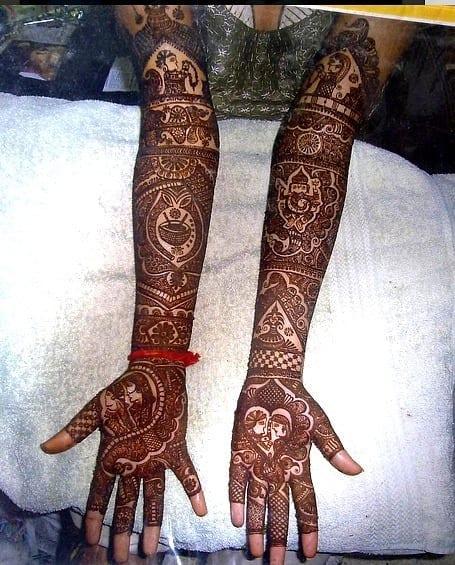 Jaipur Mehndi Designs (2)
