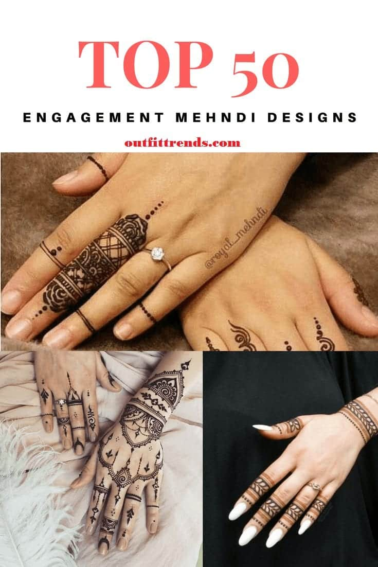 Engagement Mehndi Designs You Should Try (1)