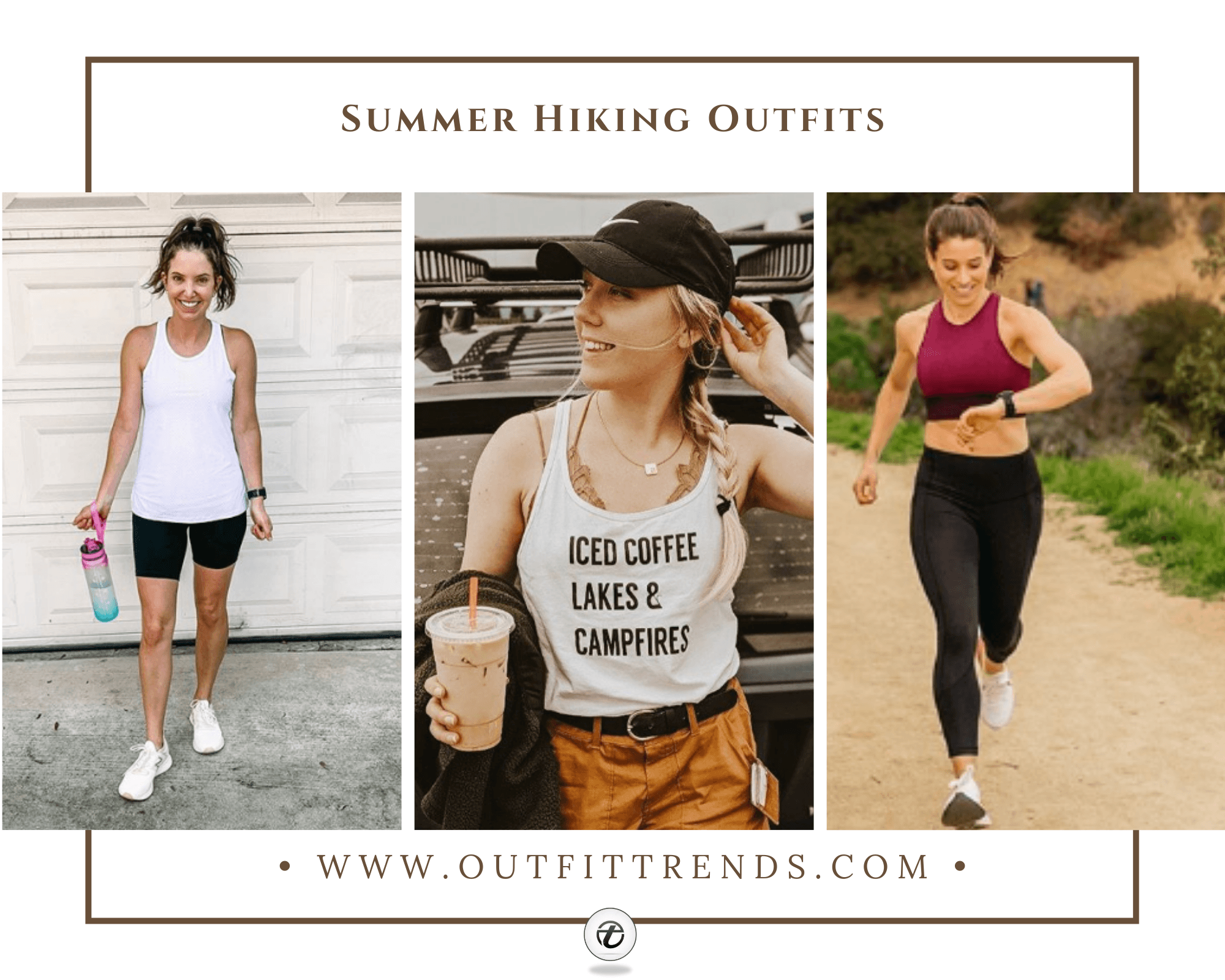 32 Summer Hiking Outfit Ideas For Women To Wear This Year