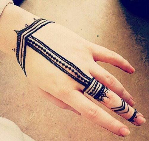 Most Popular Mehndi Tattoo Designs (16)