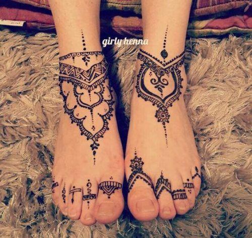 Most Popular Mehndi Tattoo Designs (15)