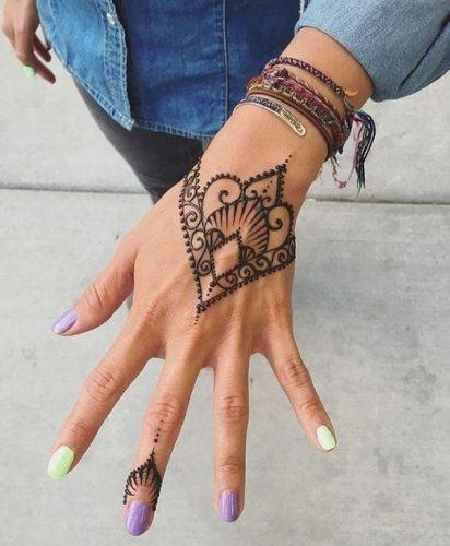 Most Popular Mehndi Tattoo Designs (11)