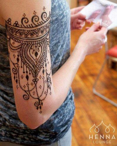 Most Popular Mehndi Tattoo Designs (27)