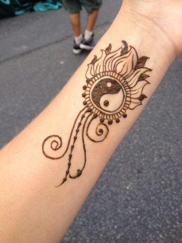 Most Popular Mehndi Tattoo Designs (24)
