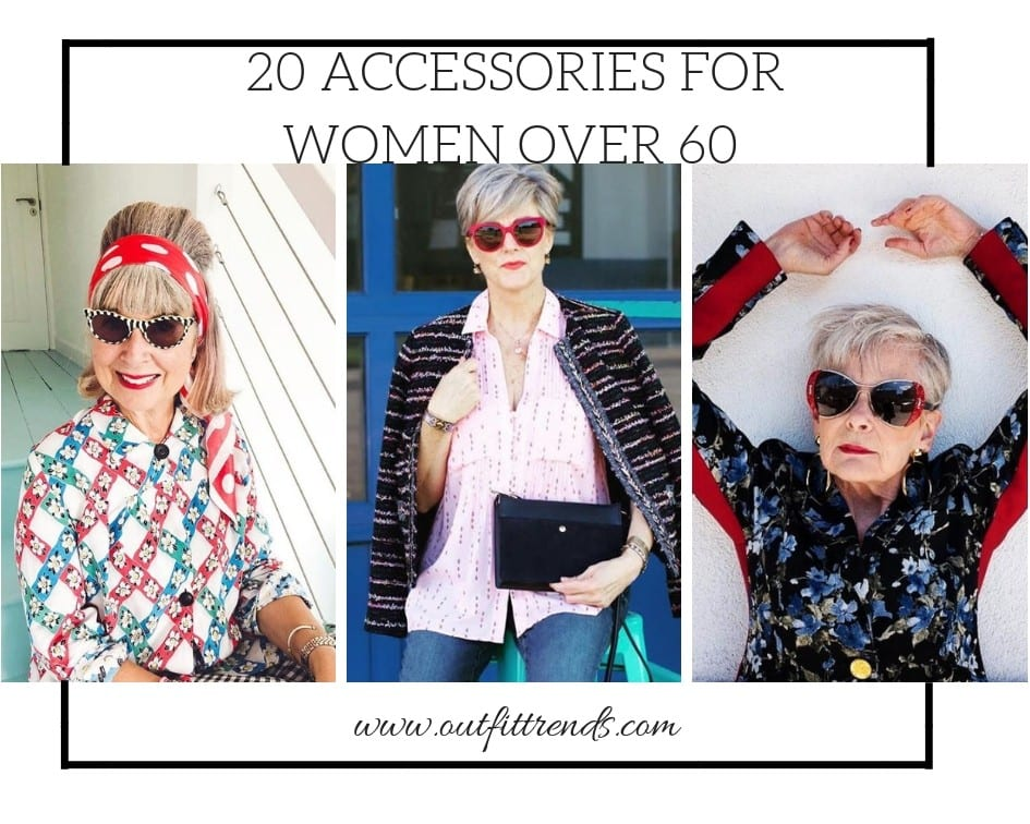 20 Best Accessories For Women Over 60 For All Seasons