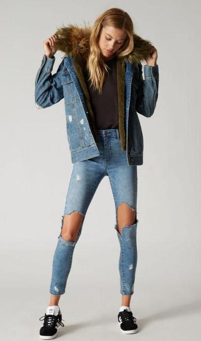Jeans Outfits for Women in Winter (5)