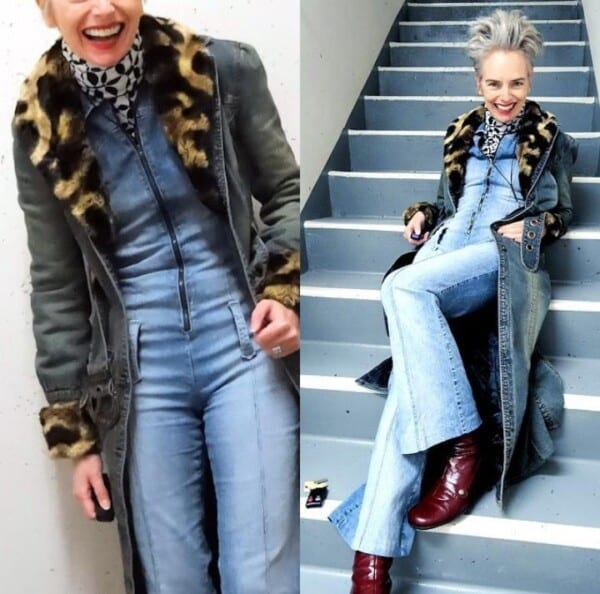 Styling Jeans for Women Over 50 (10)