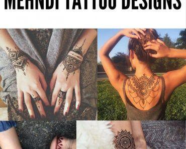 Most Popular Mehndi Tattoo Designs (1)