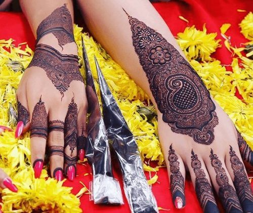 Mughlai Mehndi Designs (3)
