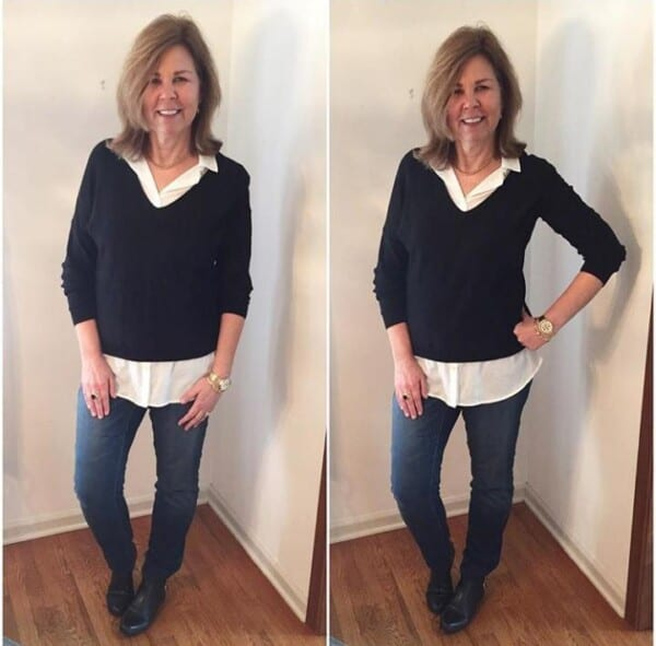 Styling Jeans for Women Over 50 (5)