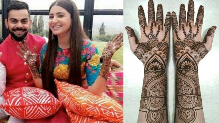 Top 23 Celebrities Mehndi Designs From Their Weddings
