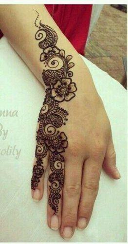 Best Mehndi Designs for Fingers (27)
