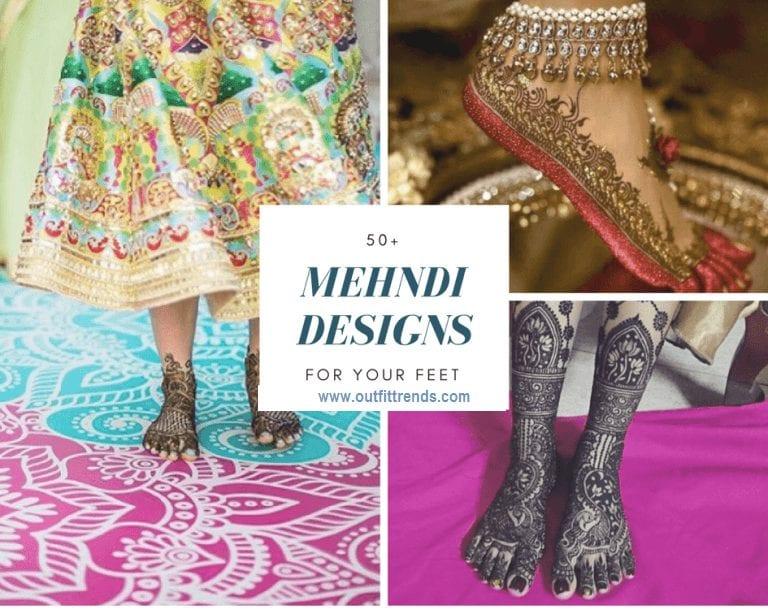 Foot Henna Art 50 Beautiful Mehndi Designs for Feet