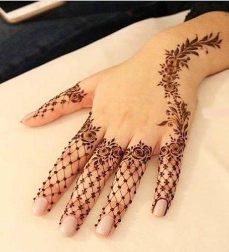 Best Mehndi Designs for Fingers (26)