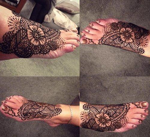 Beautiful Mehndi Designs for Feet (39)