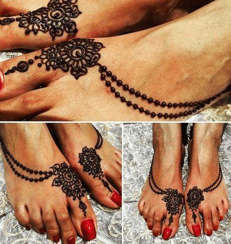 Beautiful Mehndi Designs for Feet (29)