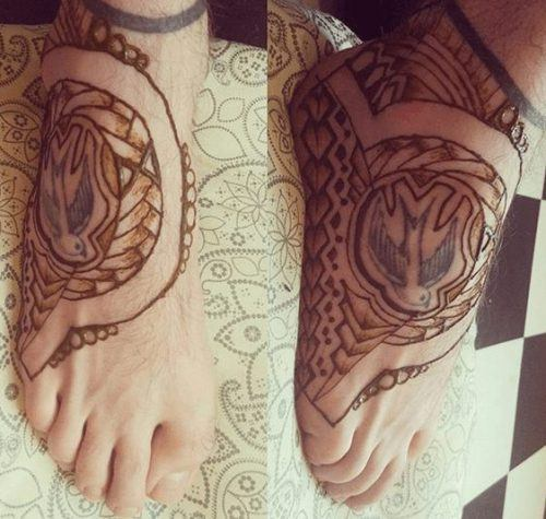 Beautiful Mehndi Designs for Feet (27)